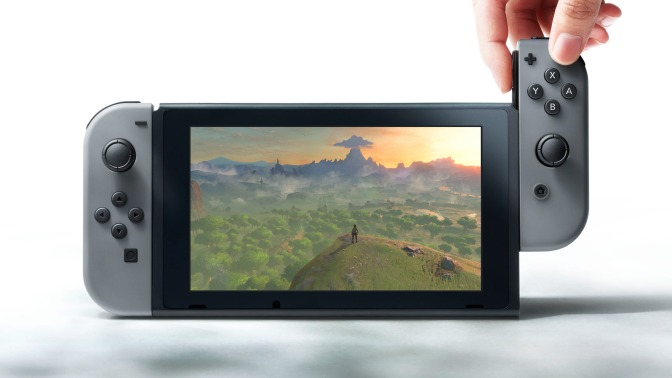 New Nintendo Switch console announced!